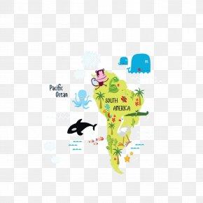 South America Animal Illustration - South America Ballena, California Illustration PNG