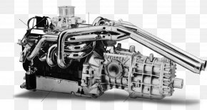 Car Engine - 1966 24 Hours Of Le Mans Ford GT40 Car Ford Galaxie PNG