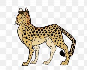 Vector Cheetah - Cheetah Cat Cougar Clip Art PNG