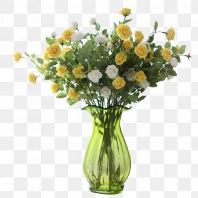 Bottle Plant Flowers - Floral Design Vase Glass Flower PNG