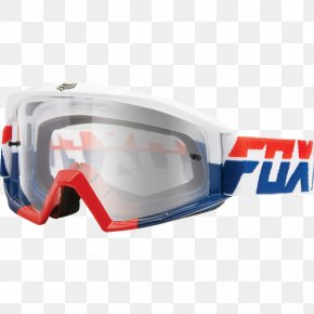 Atv Goggles - Goggles Glasses Motocross Motorcycle Blue PNG