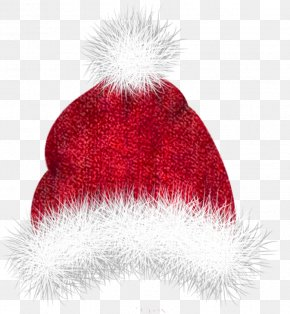 Santa Hat - Santa Claus Christmas Hat Clip Art PNG
