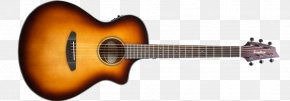 Solid Black Upper And Lower Case D - Breedlove Discovery Dreadnought CE Acoustic Guitar Breedlove Guitars Acoustic-electric Guitar PNG