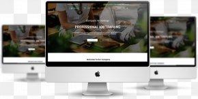 Design - Responsive Web Design Mockup Architecture Template PNG