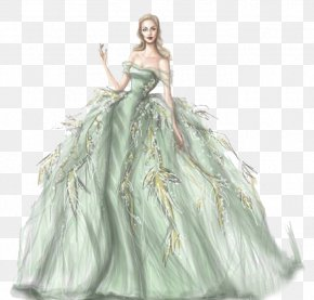 Wedding Dress - Fashion Sketchbook Drawing Fashion Illustration Illustration PNG