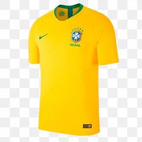 Brazil Jersey - 2018 World Cup 2014 FIFA World Cup Brazil National Football Team Jersey PNG