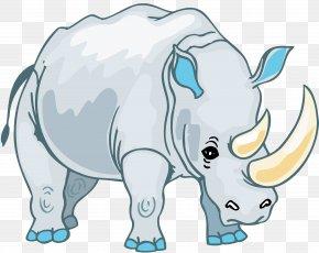 Rhino - Rhinoceros Drawing Clip Art PNG