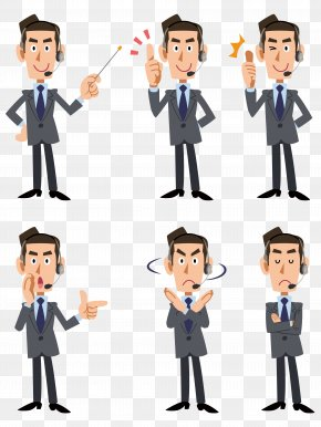 White Collar Business People - Royalty-free Suit Illustration PNG