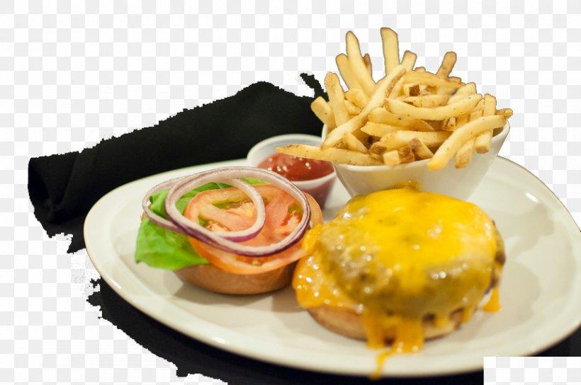 Hamburger French Fries Cheeseburger Fast Food Breakfast, PNG, 860x571px, Hamburger, American Food, Appetizer, Bread, Breakfast Download Free