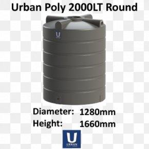 Water Tank - Plastic Water Tank Storage Tank Rain Barrels Stock Tank PNG