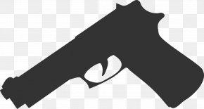 Handgun - Firearm Handgun Pistol Weapon Revolver PNG