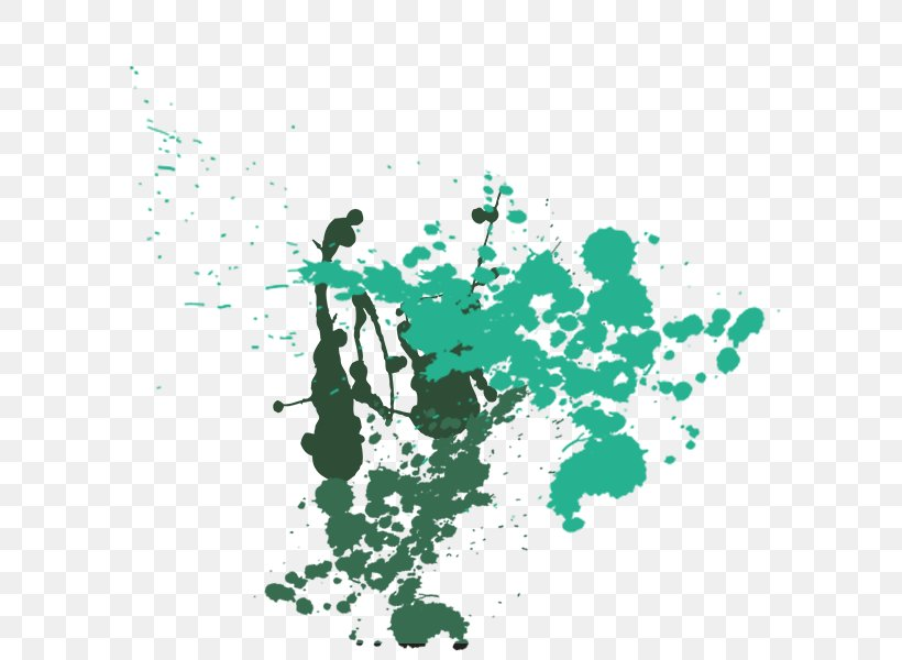 Hand Painted Canopy Color Ink Drop, PNG, 600x600px, Ink, Area, Calligraphy, Color, Drawing Download Free