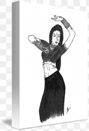 Kathak Dance - Human Behavior Shoulder Cartoon Sketch PNG