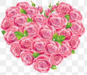 Rose Heart Cliparts - Rose Heart Pink Stock Photography Clip Art PNG
