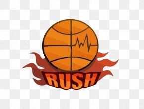 Cartoon Fiery Basketball - Visual Arts Cartoon Basketball Logo PNG