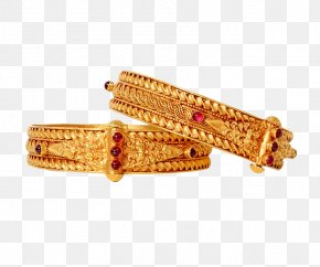 Jewellery - Bangle Jewellery Gold Jewelry Design PNG