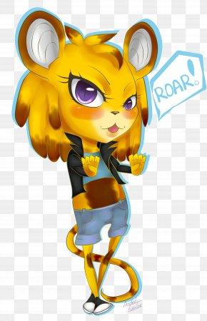 Roar - Mammal Cartoon Cat PNG