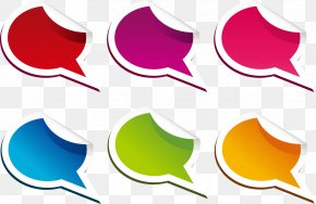 A Variety Of Exquisite Color Tear Small Dialog Box - Paper Dialog Box Clip Art PNG