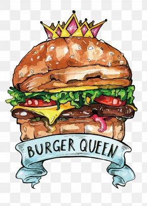 Vector Burger King - Hamburger Cheeseburger Fast Food Burger King PNG