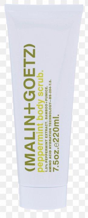 MALIN+GOETZ Peppermint Shampoo Shower Gel Lip Balm Hair Care Perfume PNG
