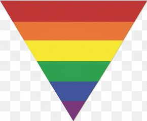 Triangle - Rainbow Flag LGBT Pink Triangle PNG