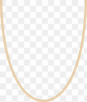 Yellow Gold Necklace - Necklace Gold Chain PNG