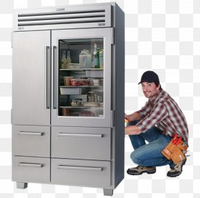 Home Appliance - Sub-Zero Refrigerator Home Appliance Ice Makers Refrigeration PNG