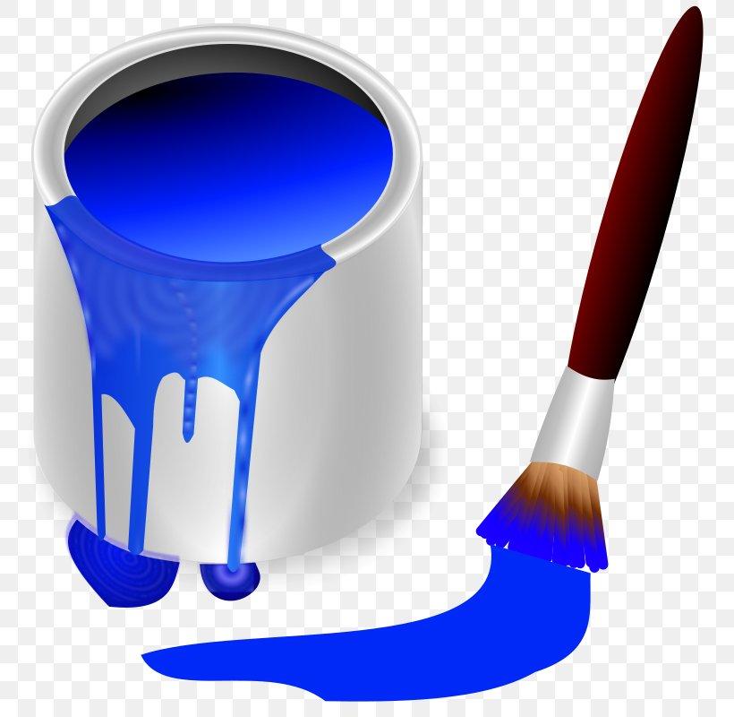 Bucket Paint Mop Clip Art, PNG, 800x800px, Bucket, Black, Brush, Bucket And Spade, Cobalt Blue Download Free