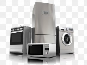Home Appliances Clip Art - Home Appliance Major Appliance Washing Machines Cooking Ranges PNG