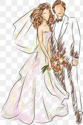 Vector Wedding - Wedding Illustration PNG