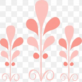 Pink Abstract Pattern - Pink Cartoon PNG