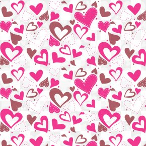 Valentine Hearts Background Vector - Valentine's Day Heart Euclidean Vector PNG