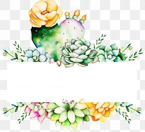 Flower Plant - Floral Flower Background PNG