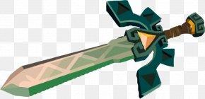 Sword - The Legend Of Zelda: Spirit Tracks Sword Hyrule Warriors Ganon The Legend Of Zelda: Majora's Mask PNG