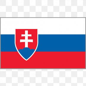 Blue Stripes - Flag Of Slovakia National Flag Flag Of Iceland PNG