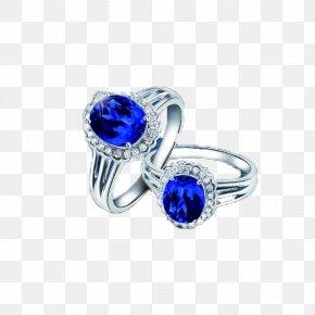 Sapphire Jewelery - Sapphire Ring Jewellery Diamond PNG