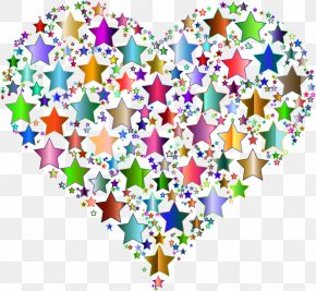 Stars Background - Desktop Wallpaper Color Heart Clip Art PNG