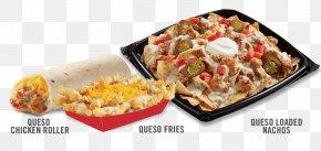 Loaded Fries - Vegetarian Cuisine Burrito Taco Mexican Cuisine Nachos PNG