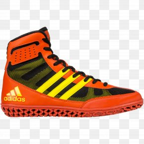 Adidas - Wrestling Shoe Adidas Sneakers Boot PNG