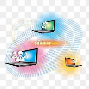 Internet Technology - Laptop Internet Computer Network Vecteur PNG