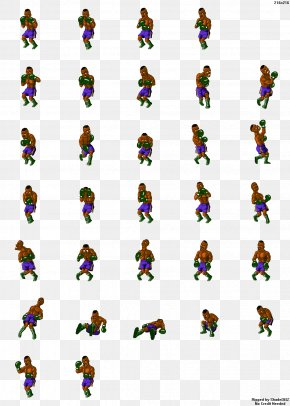 Sprite - Super Punch-Out!! Super Nintendo Entertainment System Sprite Video Game PNG