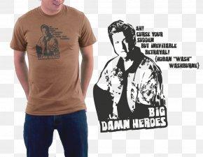 T-shirt - Long-sleeved T-shirt Dr. Dolittle Shoulder PNG