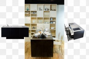 Kitchen - Kitchen Interior Design Services Countertop Drawer Buffets & Sideboards PNG