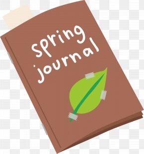 Spring Book - Designer Notebook PNG