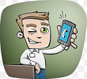 Fictional Character Electronic Device - Cartoon Technology Electronic Device Fictional Character PNG