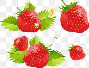 Strawberry - Strawberry Cream Cake Ice Cream Cheesecake Fruit Salad PNG