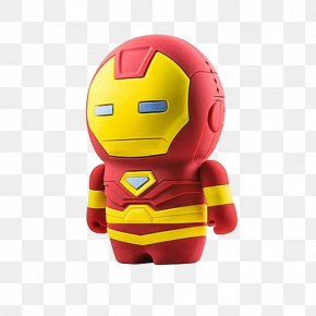 The Iron Man Standing - The Iron Man Captain America Cartoon PNG