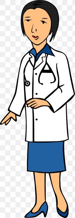 Female Eye Doctor Clipart