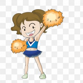 Cheerleaders - Cheerleading Cartoon Royalty-free Illustration PNG