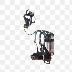 Work Security - Self-contained Breathing Apparatus Fenzy Respirator Business Mask PNG